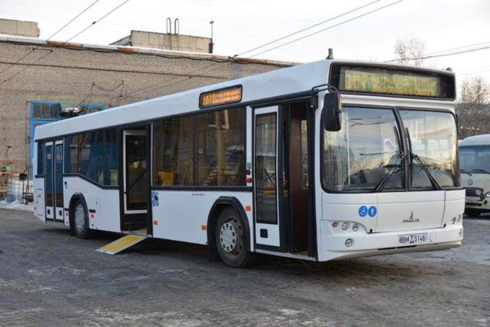 низкопольные автобусы Курган